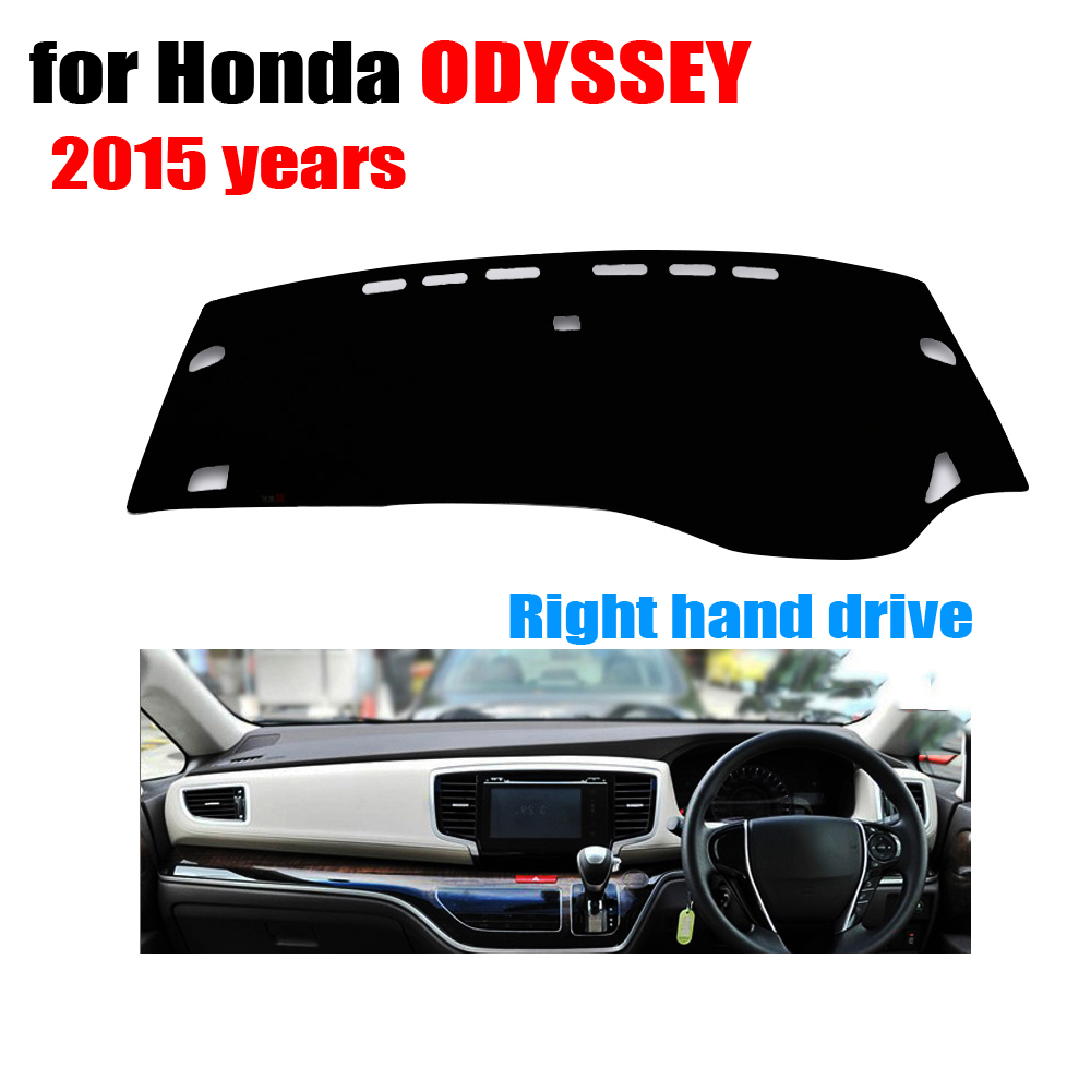 car dashboard covers For Honda New ODYSSEY 2015 years Right hand drive dash mat covers Auto dashboard protector accessories