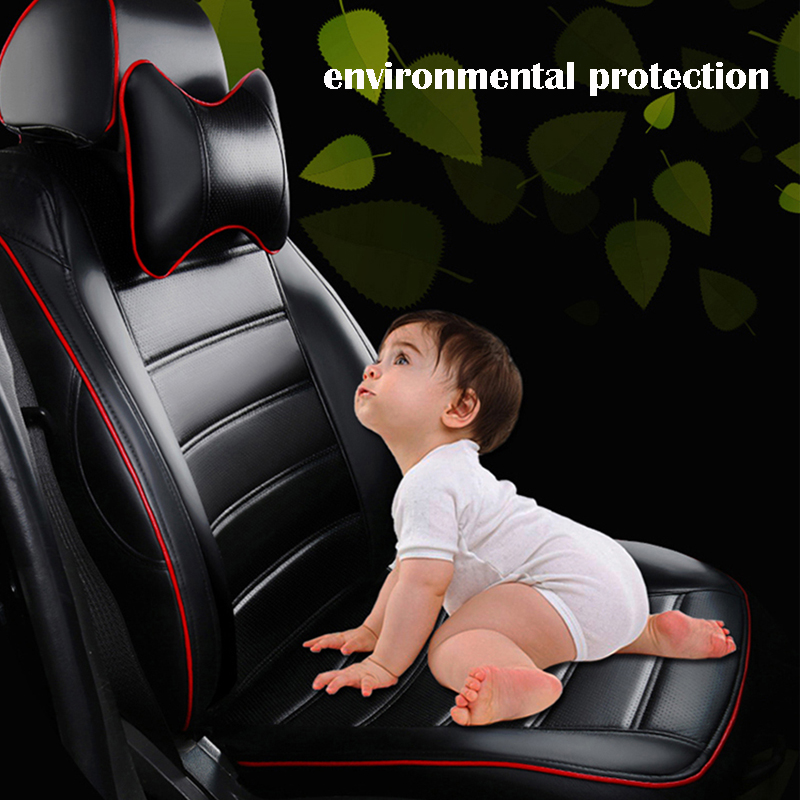 Car Believe car leather seat cover For mitsubishi lancer 9 10 outlander xl pajero 4 asx accessories covers for car seats in Automobiles Seat Covers from Automobiles Motorcycles