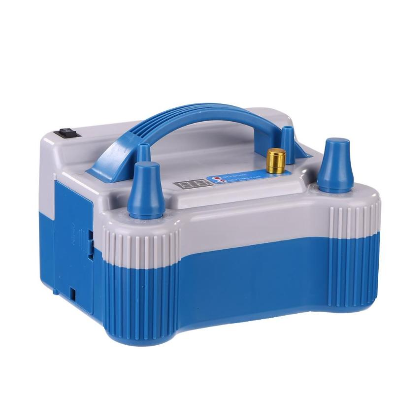 Pompe gonflable électrique de gonfleur de pompe de ballon d'air de Double trou