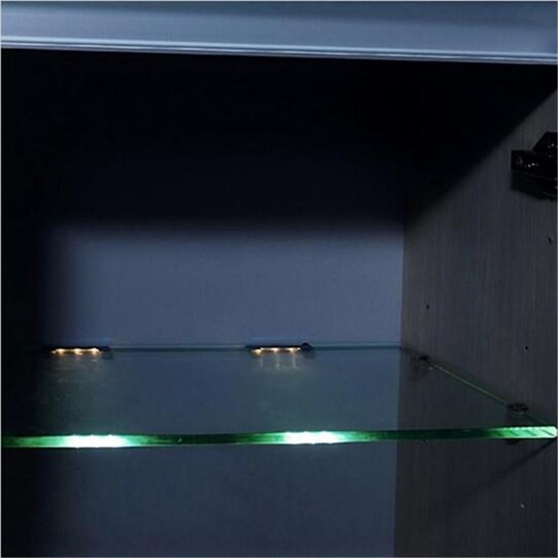LED Onder Kast Verlichting voor Glas Rand Plank Terug Side Clip klem ...