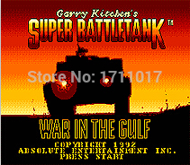 Super Battle Tank 16 bit MD Game Card For Sega Mega Drive For Genesis