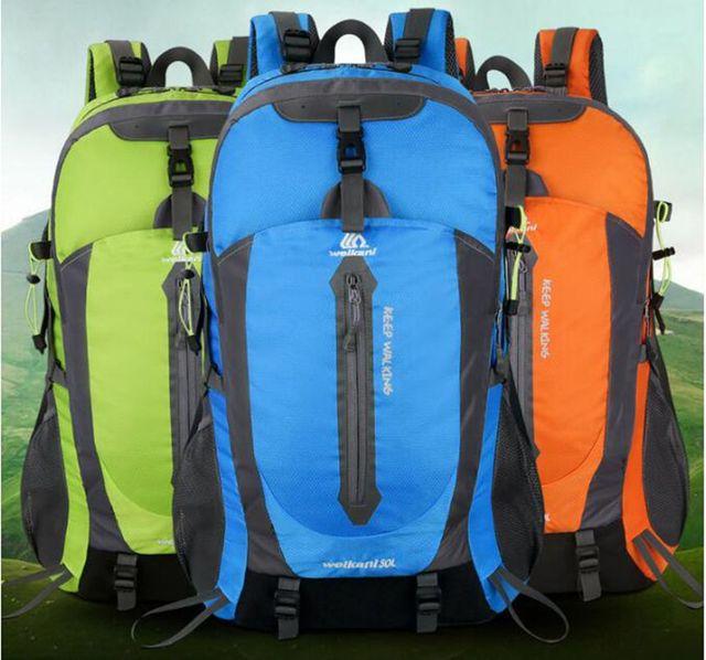 62fb0fd94b86 Hot!50L Outdoor Backpack Camping Bag Waterproof Mountaineering Hiking  Backpacks Molle Sport Bag Climbing Rucksack