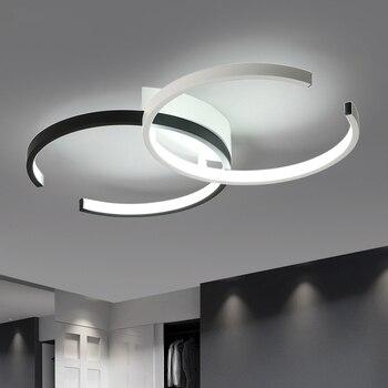 โคมไฟเพดานที่ทันสมัยนำโคมไฟเพดานสำหรับห้องนั่งเล่นห้องนอนห้องครัวโคมไฟเพดาน Acrly โคมไฟเพด...