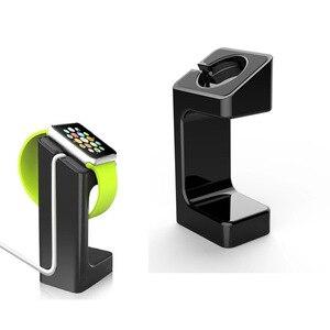 Image 3 - Support de chargeur pour Apple montre Station daccueil support de montre bracelet de montage pour Apple Watch 1 2 3 42mm 38mm charge support de montre intelligente