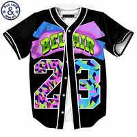 Hombres Mujeres número 23 3D camisetas novedad Tops helado impreso verano divertidas camisetas coloridas verano Tops Camiseta hombre