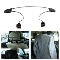 Stainless Steel Car Seat Headrest Coat Hanger For Jackets Suits Clothes Auto Seat Back Clips Holder
