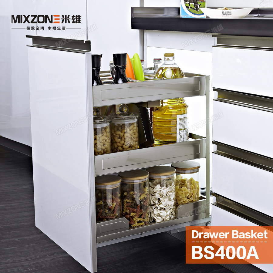 Pull Out Basket Organizer Stainless Steel Kitchen Cabinet Condiment Pull Out Racks For Kitchen Cabinets on pull out racks for closets, pull out racks for wardrobe, pull out racks for garage cabinets,