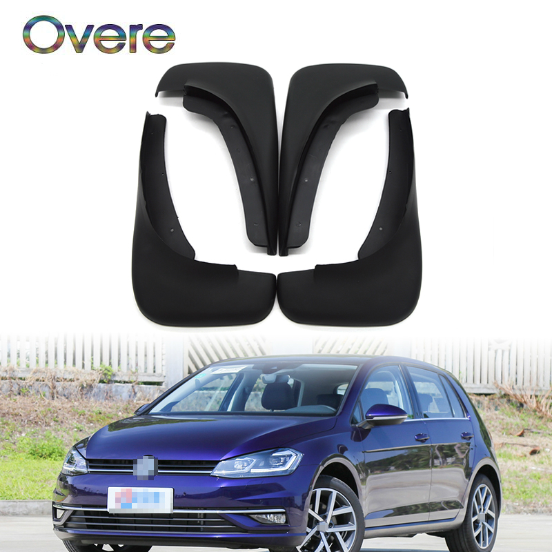 Overe Car Front Rear Mudguards For 1998 1999 2000 <font><b>2001</b></font> 2002 2003 2004 2005 VW Golf Mk4 IV Bora <font><b>Jetta</b></font> Accessories Car-styling image