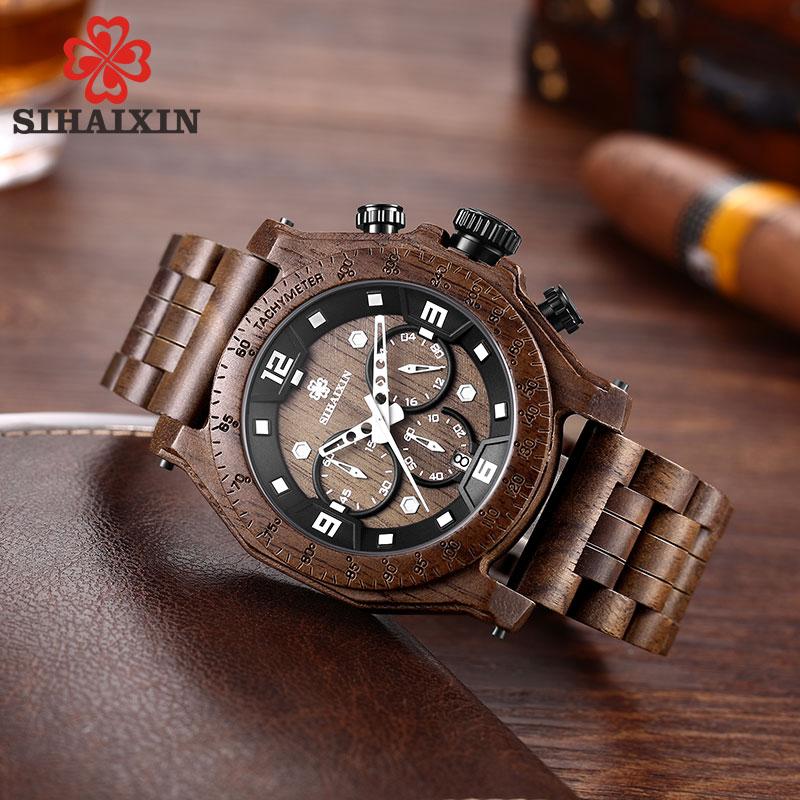 wooden watch man 4