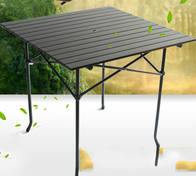 Outdoor folding table camping portable picnic table