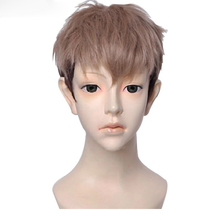 Attack on Titan Jean Kirschtein Kirstein Wigs Brown Mixed Color Heat Resistant Synthetic Hair Cosplay Wig + Wig Cap