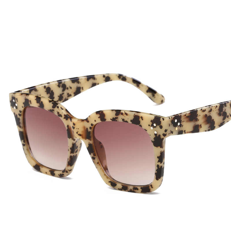 Модные негабаритные Квадратные Солнцезащитные очки для женщин и мужчин, фирменный дизайн, ретро оправа, солнцезащитные очки для женщин, oculos gafas de sol mujer UV400