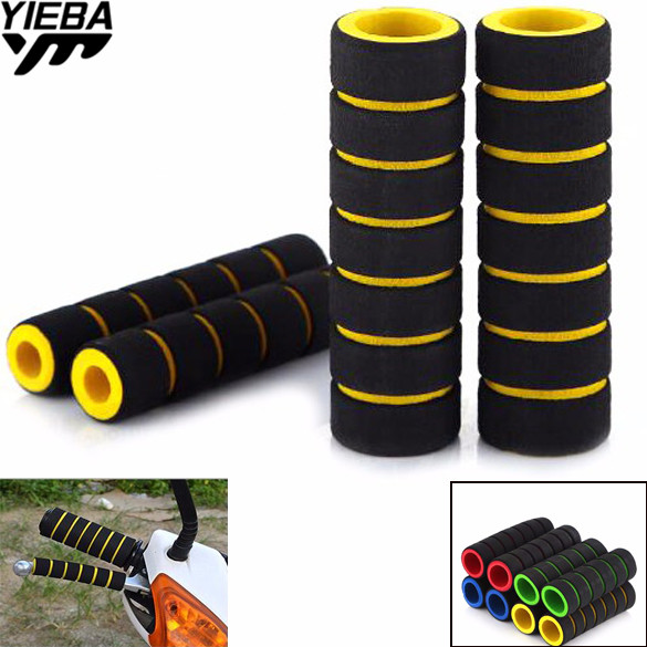 for honda XR250/MOTARD CBF1000/A CB600F CBF600/SA CBR600F cb400 22mm Bike Racing Bicycle Motorcycle Handle Bar hand Grips Foam
