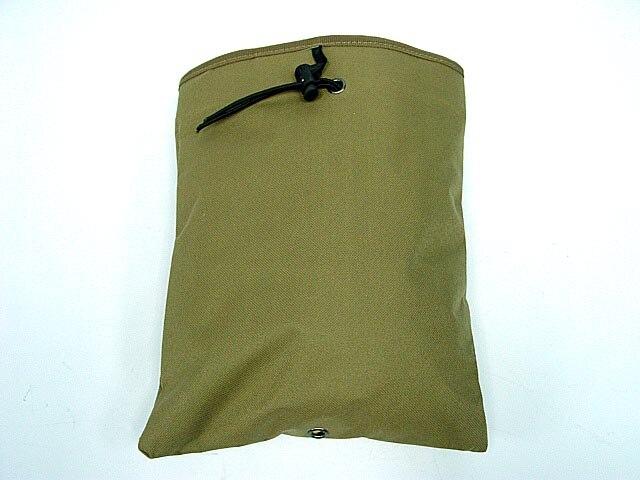 Prix pour Nouvelle Grande Capacité Molle Militaire Tactique Airsoft Paintball Chasse Pliant Mag Récupération Dump Pouch
