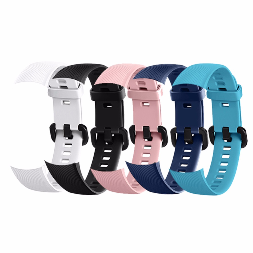 Smart Wristband For Huawei Honor Band 4 Amole Strap Silicone Color Screen Fitness Tracker Watch Smart Bracelet Strap For huawei watch strap new fashion sports silicone bracelet strap band for huawei honor 3 smart watch may 10