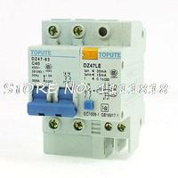 AC 400V 40A 2P Overload Protection ELCB Earth Leakage Circuit Breaker