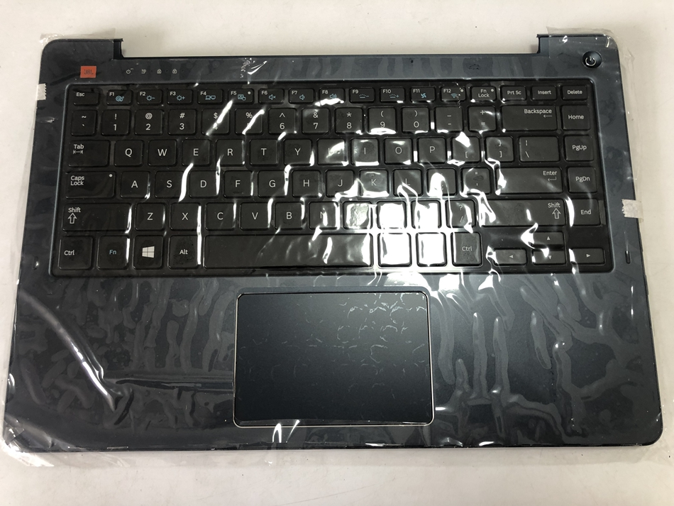 US Laptop <font><b>Keyboard</b></font> For <font><b>Samsung</b></font> <font><b>NP530U4E</b></font> 530U4E Laptop Palmrest Cover <font><b>Keyboard</b></font> TP Blue BA75-04632A US Layout image