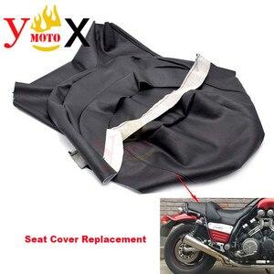 Сменный Чехол на сиденье мотоцикла из искусственной кожи, Водонепроницаемый Чехол на подушку для Yamaha VMAX VMAX1200 V-MAX1200 VMAX1200