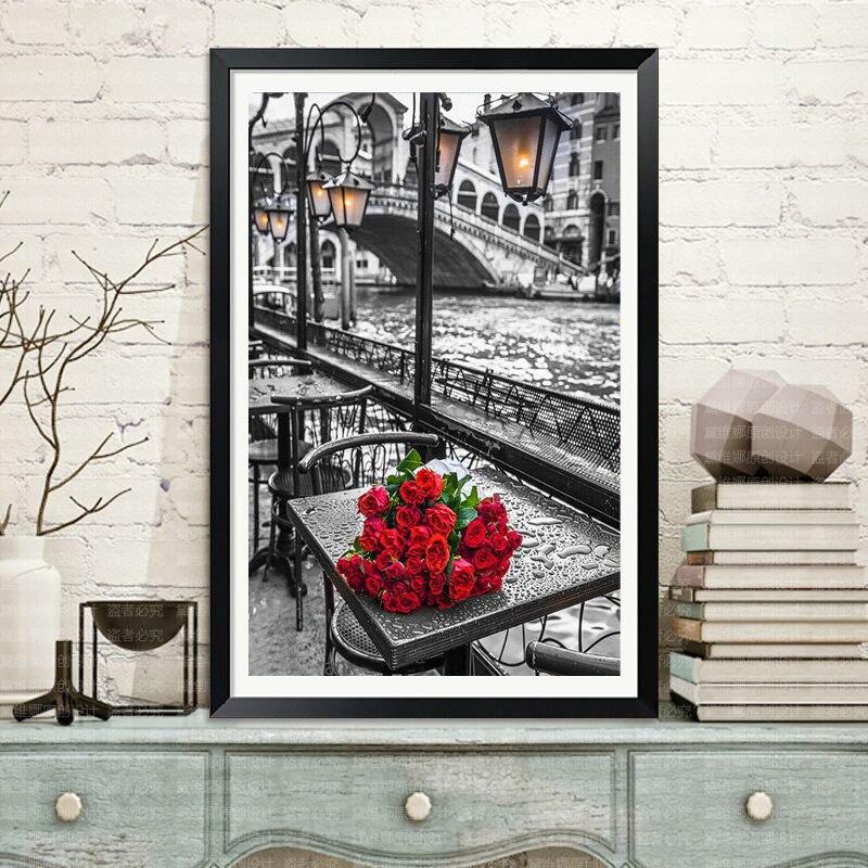 эйфелева башня картины рукоделие купить в Китае