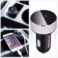 Портативный Мини Dual USB Автомобиль Авто Зарядное устройство С ЖК-Дисплеем Для Samsung S6 S7 Note 5 7 iPhone SE 5S 6 S 7 Плюс