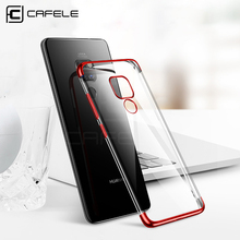 CAFELE Soft TPU Case for Huawei Mate 20 Pro Plating Cover Mate20 Ultra Thin Transparent Foldable