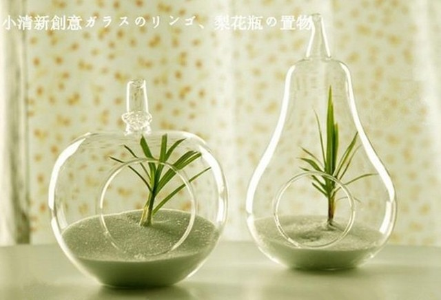 Home Decor Vases decorative floor vases quick view heather ann creations spun Home Decor Glass Vase Decoration Home Decoration Transparent Glass Flower Vase Apple Pear Shaped Creative Decoration