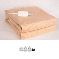 Luxury Wool Fabric Electrical Blanket Electric Mattress Electric Blanket Thicker Heated Carpet Electric Mat Body Warmer