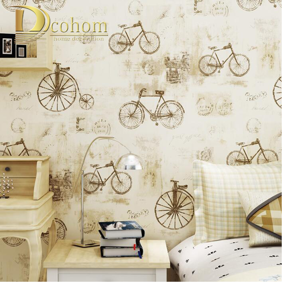 Romantic Cozy Vintage Modern Home Wallpaper Rolls For Living room Bedroom Kids room papel de parede Children Wall paper R611 non woven butterfly bubble wallpaper modern simple romantic circle cozy living room bedroom background wall paper kids girls