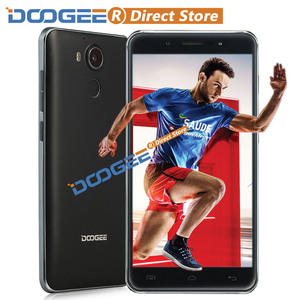 DOOGEE F7 4G Fingerprint MTK6797 Helio X20 64-bit Deca Core Smartphone 5.5 FHD 1920*1080 Android 6.0 3GB+32GB 13MP Mobile Phone