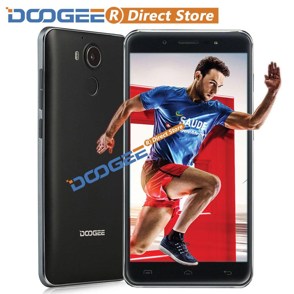 """Цена за Doogee f7 4 г отпечатков пальцев mtk6797 helio x20 64 бит дека ядро смартфон 5.5 """"FHD 1920*1080 Android 6.0 3 ГБ + 32 ГБ 13MP Мобильный Телефон"""