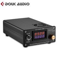 25W Adjustable DC Regulated Linear Power Supply With USB 5V and DC 5V 24V Output For Audio DAC/Digital Players