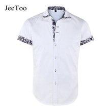 Neue Casual Männer Langarm-shirt Hemd Weiße Baumwolle Herren Kleid drehen Unten Kragen Camisa Social Masculina Plus Größe S-5XL Slim Fit