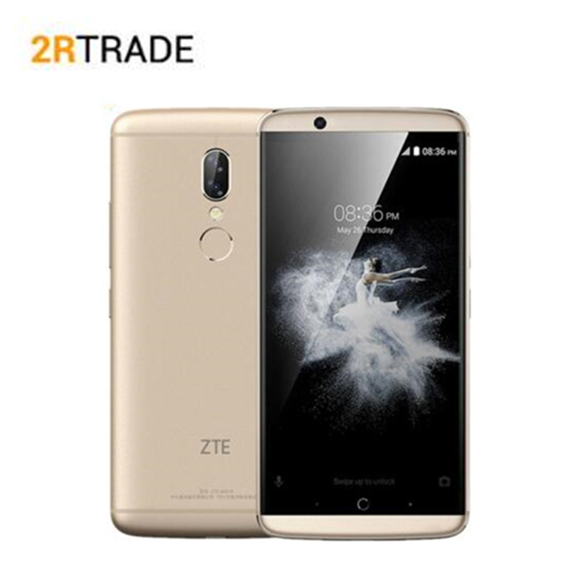 Original ZTE AXON 7S 20.0MP  4GB RAM 128GB Snapdragon 821 Quad-core  5.5FHD 2560x1440 NFC 4G LTE Mobile phone Smartphone