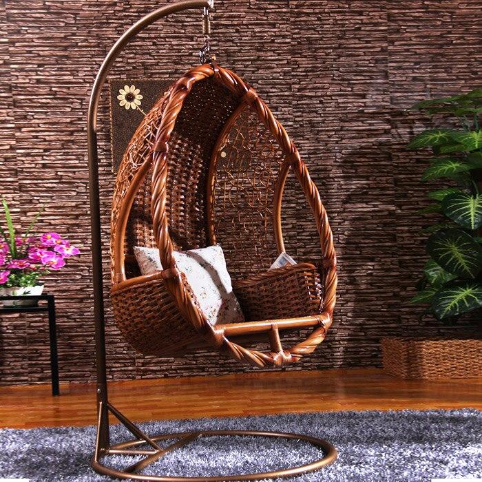columpio interior los nuevos exterior de mimbre cesta colgante columpio silla colgante de interior especiales en