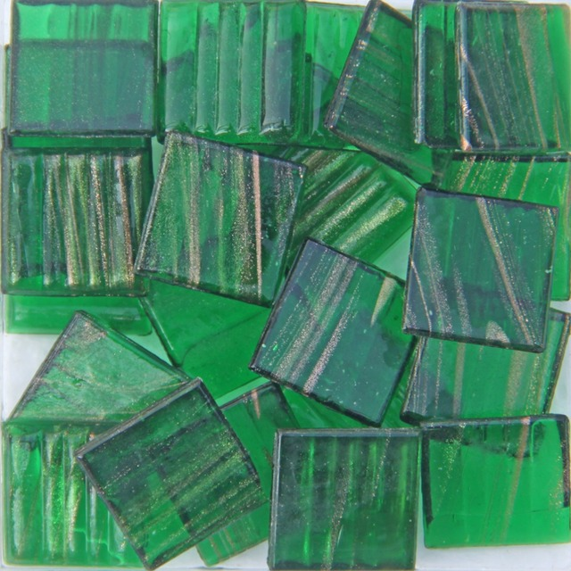 200g/68 pcs 20 X 20mm 3/4 Inch Quartz Mosaic