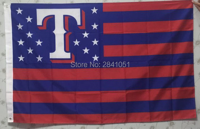 huge selection of 781a7 0dbfb Texas Rangers Team USA Star and Stripes Team American Outdoor Indoor Hockey  Baseball Flag 3X5 Custom USA Any Team Flag-in Flags, Banners & Accessories  ...