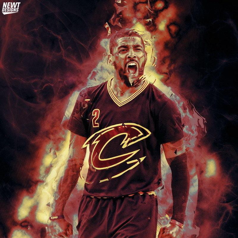 magasin en ligne 2c26c 73bee US $13.26 15% OFF 154 MVP Cavaliers Kyrie Irving Basket Semua Bintang 14