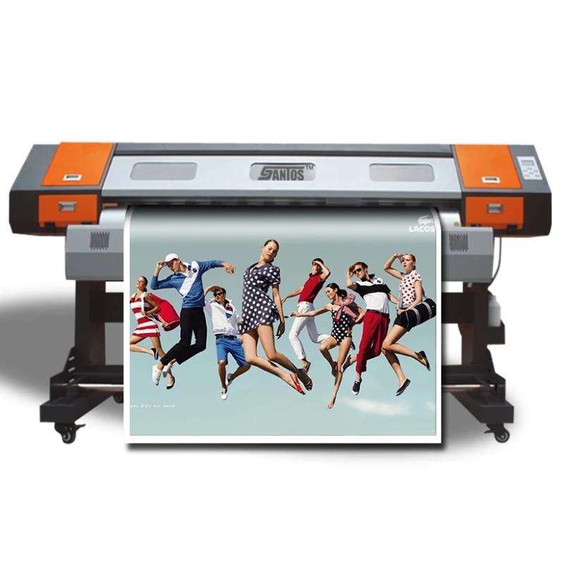 banner vinyl poster sticker printing machine 1 6m good cheap eco solvent ink pinter large wide format color printer inkjet