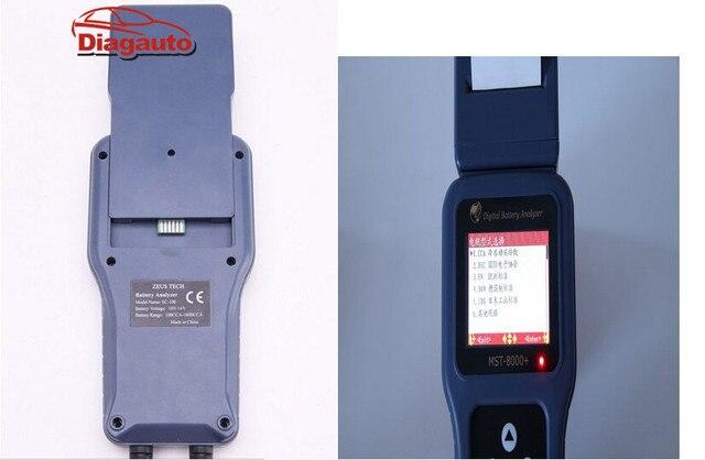 Expédition Rapide 12 V Et 24 V Mst8000 + Batterie Système Testeur