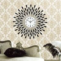 Clock wall clock modern brief personalized rustic fashion clock mute quartz clock