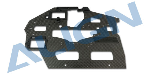 Genuine Align T-REX 550L Carbon Fiber Main Frame(R)/2.0mm H55B005XXW Original trex 550 Spare part sFree Shipping with Tracking genuine align t rex 600 ccpm metal swashplate h60h004xxw original align t rex 550 spare parts free shipping with tracking