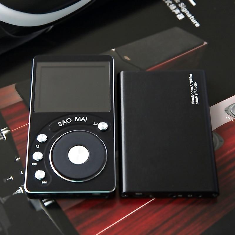 SAOMAI SM4 + 32G / 8 GB Hifi- ի բարձր լուծմամբ DAC - Դյուրակիր աուդիո և վիդեո - Լուսանկար 5