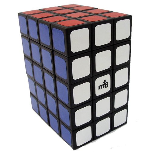 LeadingStar 3x4x5 Magic Cube  Fully Functional  345 Puzzle Cube  Black Hot Selling Brain Teaser Educational Toy Cubo Magico Zk30