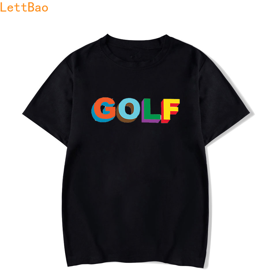 Golf Wang Tyler The Creator Rap T-shirt men/women Summer 2019 cotton Short Sleeve New vogue T Shirt Fashion New Arrival Simple image