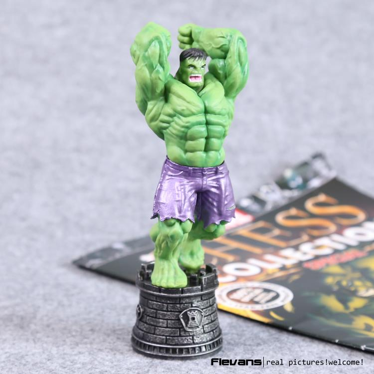 The Incredible Chess Hulk PVC Action Figure Collectible Model Toy 6 14cm shfiguarts batman injustice ver pvc action figure collectible model toy 16cm kt1840