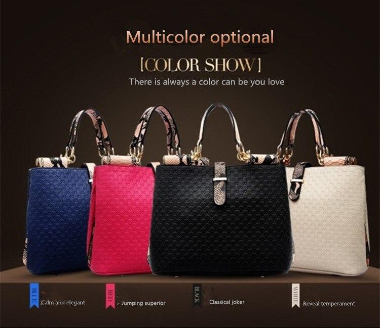 2017 Western Style Women Handbag Fashion Casual Portable Shoulder Bag Hot Bolsas Femininas Messenger Bags Trendy Tote In From