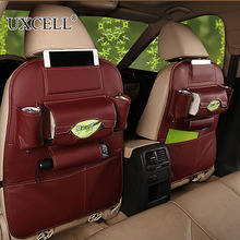UXCELL One Piece Of Faux Leather Car Seat Back Storage Bag Organizer For iPad Phone Holder Multi-Pocket Car Rear Seat Back BAG
