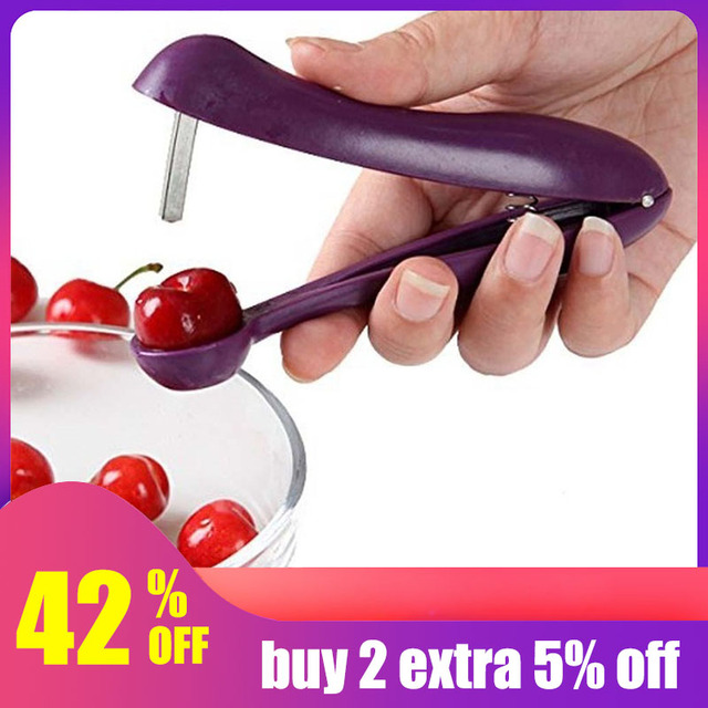 Urijk 1 PC Rifornimenti Della Cucina di Casa 13x8.4 cm di Plastica Viola Cherry