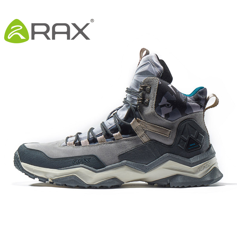 RAX Waterproof Hiking Shoes Men outdoor Hiking Boots Women Outdoor Hunting Boots Men Climbing Walking Trekking Shoes Big size 46 clorts outdoor hiking shoes walking men climbing shoes sport boots hunting mountain shoes non slip breathable hunting boots