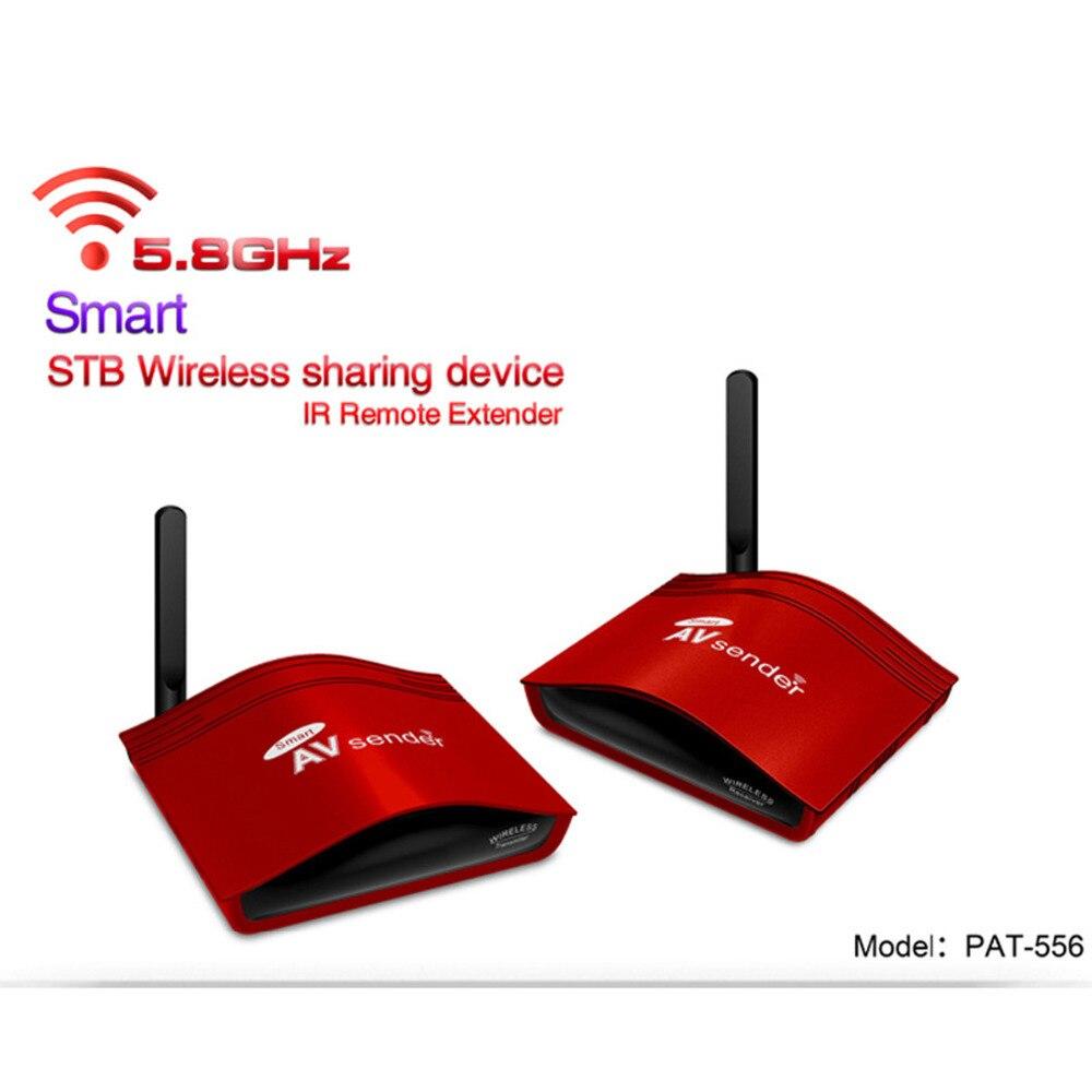 PAT-556 300 m sans fil AV Smart Swtich RCA Audio vidéo émetteur récepteur émetteur + IR étendu pour Satellite Android câble IPTV